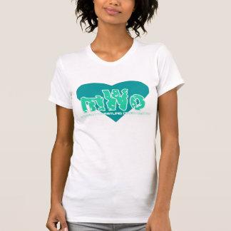 MWO Green Heart Logo T Shirt