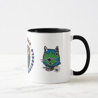 MWS logo and heads mug