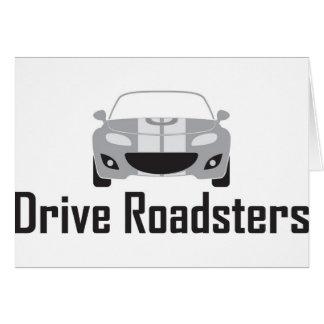 mx5 Drive Roadsters Greeting Card