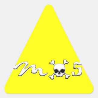 MX5 skull Triangle Sticker