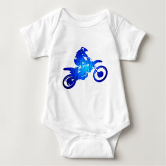 MX BLUE BEAT BABY BODYSUIT