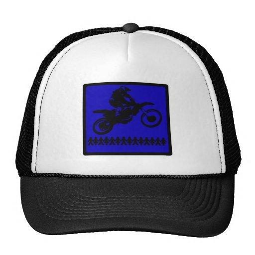 MX BLUE EXTENSION TRUCKER HAT