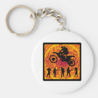 MX BREATHE FIRE KEYCHAIN