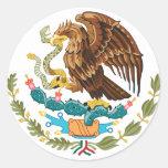 MX de México Pegatina Redonda
