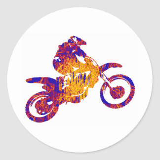 MX ENVIRONMENT RICH CLASSIC ROUND STICKER