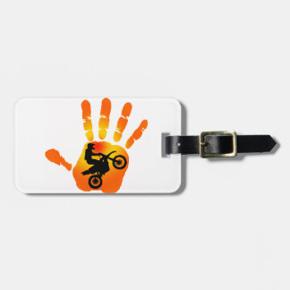 MX HANDS ON LUGGAGE TAG