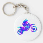 MX INTER GALACTIC BASIC ROUND BUTTON KEYCHAIN