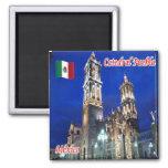 MX - México - Catedral Puebla Imán Cuadrado