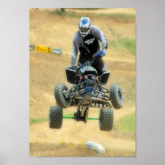 MX Quad Racing Posters
