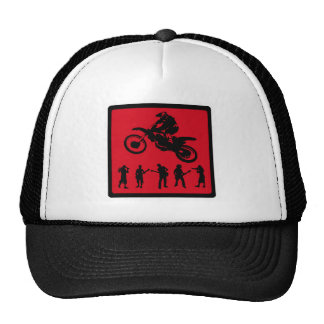 MX RED RIDERS MESH HAT
