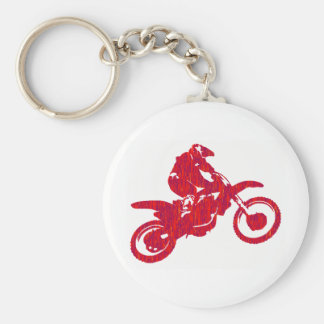 MX RED STYLED KEYCHAIN