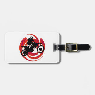 MX RIDING FIRE LUGGAGE TAG