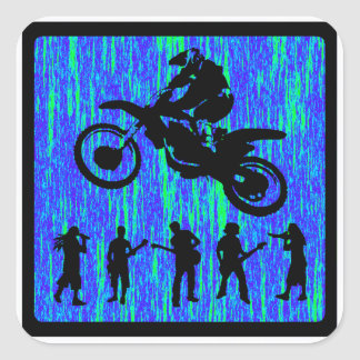 MX SPOON STYLED SQUARE STICKER