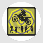 MX THE DIVIDE STICKERS