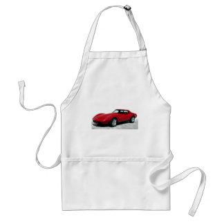 My 1979 Red Corvette Aprons