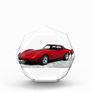 My 1979 Red Corvette Award
