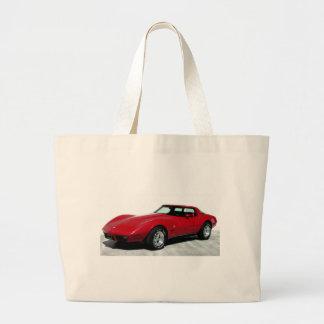 My 1979 Red Corvette Tote Bags
