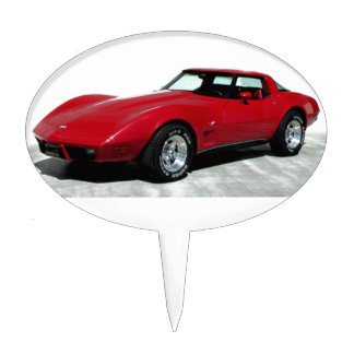 My 1979 Red Corvette Cake Topper