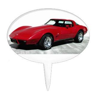 My 1979 Red Corvette Cake Topper