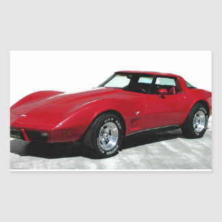 My 1979 Red Corvette Sticker