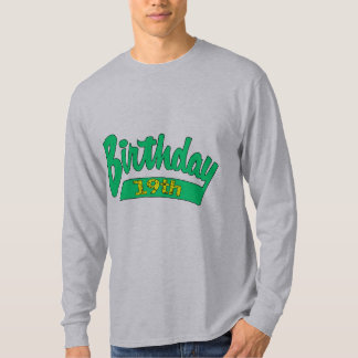 My 19th Birthday Gifts T-Shirt