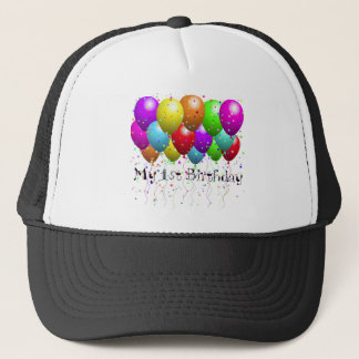 My 1st Birthday Trucker Hat