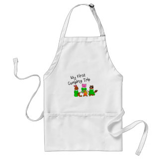 My 1st Camping Trip Adult Apron