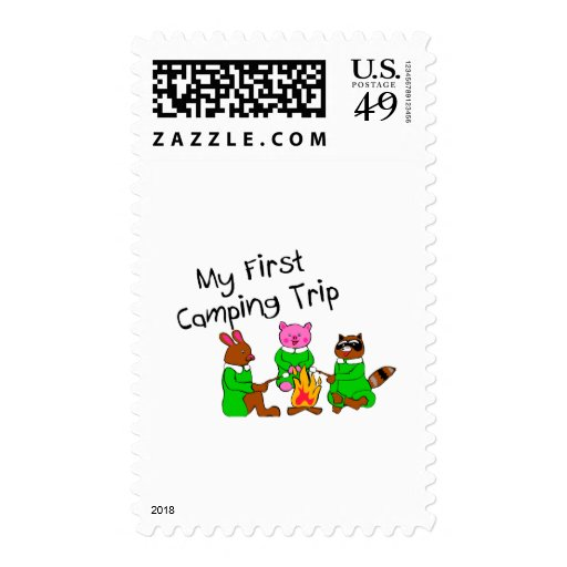 My 1st Camping Trip Postage