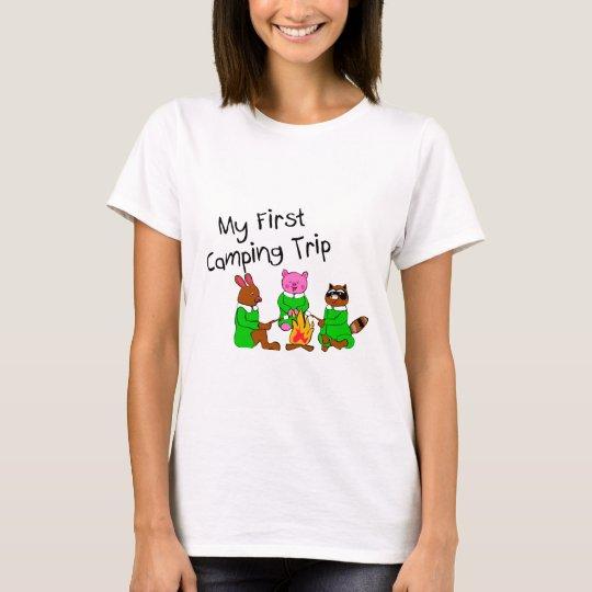 My 1st Camping Trip T-Shirt