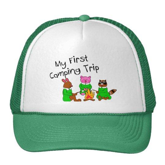 My 1st Camping Trip Trucker Hat