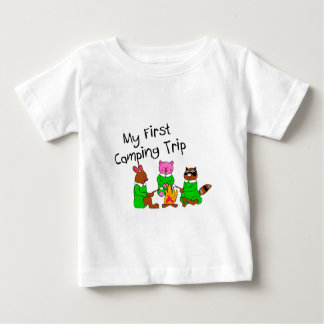 My 1st Camping Trip T-shirts