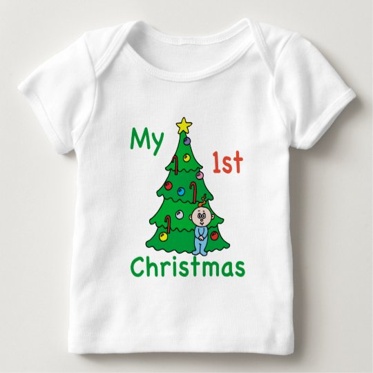 My 1st Christmas Baby Clothes Baby T-Shirt