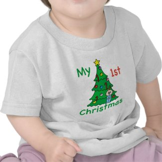 My 1st Christmas Baby Clothes T-shirt