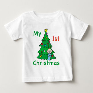 My 1st Christmas Baby Clothes Tee Shirt
