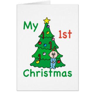 My 1st Christmas Card