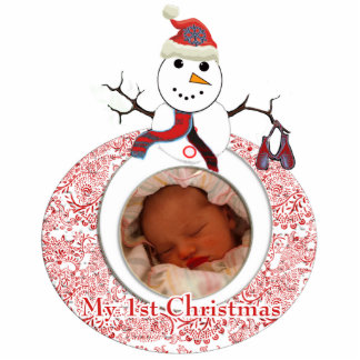 My 1st Christmas Cutout