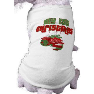 My 1st Christmas Dog Shirt