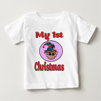 My 1st Christmas (Elf) Baby Clothes Baby T-Shirt