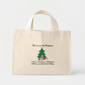 My 1st Christmas Gift Mini Tote Bag