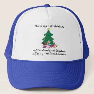 My 1st Christmas Gift Trucker Hat