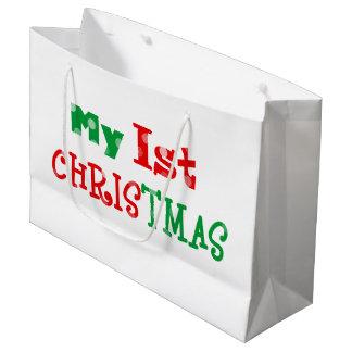 my 1st Christmas Large Gift Bag