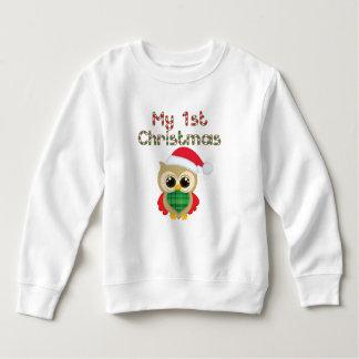 My 1st Christmas owl Sweatshirt