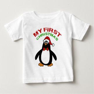 My 1st Christmas Penguin T Shirt