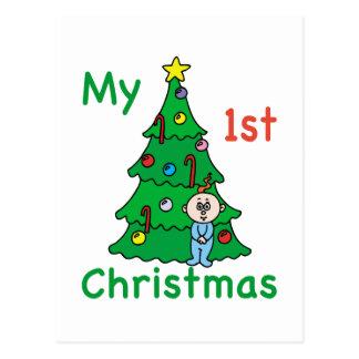 My 1st Christmas Postcard