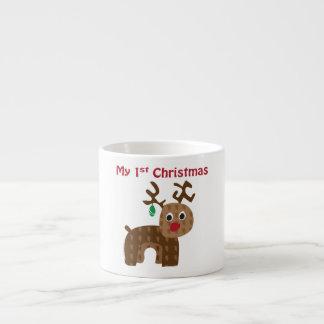My 1st Christmas - Reindeer Espresso Cup