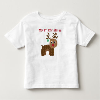 My 1st Christmas - Reindeer T-shirt