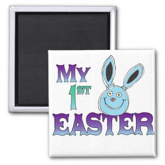 My 1st Easter Blue Bunny Refrigerator Magnet
