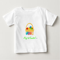 My 1st Easter!-Easter basket Baby T-Shirt