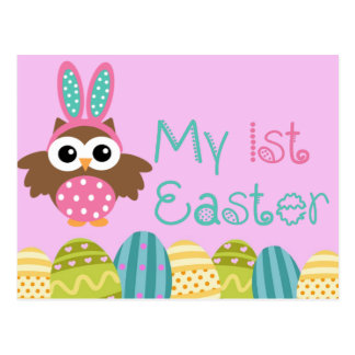 My 1st Easter Postcard