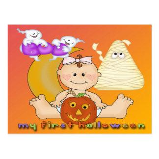 My 1st Halloween Postcard